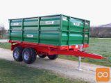 Prikolica BICCHI B502L/TA - 11 ton - tandem