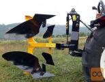 Plug, hidravlični, AgroPretex PDH 35, za traktorje 30-50KM