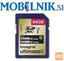 Spominska kartica 64Gb SDXC UHS-1 U3