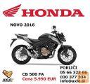 Honda CB 500XA ABS 2016