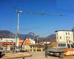 Gradbeni žerjav CATTANEO CM75S4 - samopostavljiv