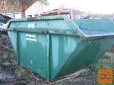6 m3 zabojnik (container) za odpad in reciklažni material