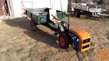 Motokultivator PGS (dizel 9kW) s frezo 40-60cm