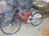"""26""""kolo z dvojnim vzmetenjem na 21prestav z DISK ZAVORO 50€"""