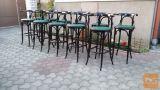 barski stoli/retro pub drvena stolica