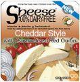 Topljivi veganski sir cheddar s karamelizirano rdečo