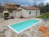 Dobrinj, okolica- Nova obiteljska kuća sa bazenom! (k605)