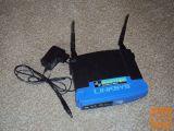 Router Linksys WRT54GL 4 izhodi + antena