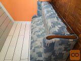 sedežna garnitura z možnostjo ležišča