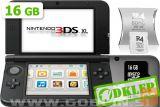 Nintendo 3DS XL srebrn + R4i SHDC v2014 + microSD 16GB + SD