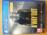 A Way Out PS4 (Playstation 4 rabljeno)