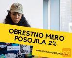 OBRESTNO MERO POSOJILA: 2% -Hitro Financiranje