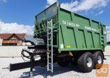 Traktorska prikolica, potisna, Brantner TA 16055 POWER PUSH+