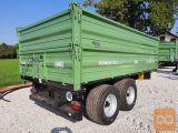 Traktorska prikolica, Brantner TA 14045 XXL - NA ZALOGI