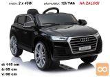 Otroški avto na akumulator Audi Q5 (črn)