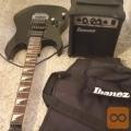 IBANEZ elektricna mladinska kitara za levicarja