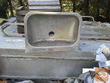 Umivalnik RF 60X40cm nov za delavnico ali vrt
